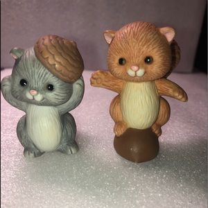 Vintage Avon Squirrel set